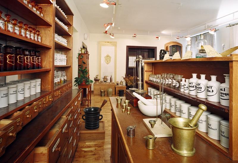 История развития аптек в Риге